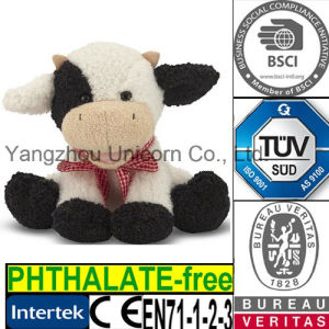 CE Baby Gift Soft Stuffed Animal Cow Plush Toy