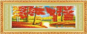 Diamond Painting, Red Maple′s Woods pictures & photos