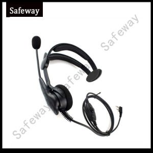 Two Way Radio Headset with Boom Microphone for Kenwood pictures & photos