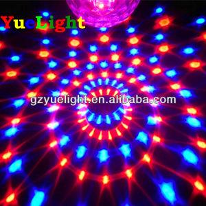 Hot Sale 6PCS*3W Tri-Color LED (RGB) Ball Light pictures & photos