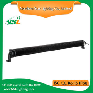 Curved LED Driving Light Bar 30inch 180W 4X4 Offroad Driving Lights Bar pictures & photos