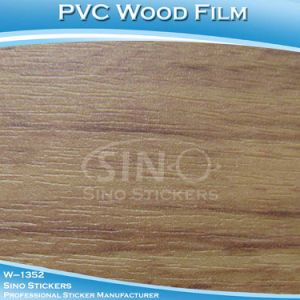 Fast Delivery PVC Wood Grain Self Adhesive Vinyl Film