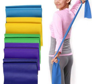 Colorful Latex Resistance Bands / Yoga Bands / Stretch Bands pictures & photos
