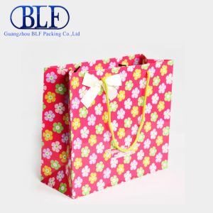 Promotion Paper Bag with PP Handle pictures & photos