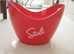 Acrylic Ice Bucket/Plastic Ice Bucket pictures & photos