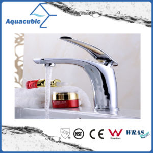 Black Bathroom Brass Basin Single Handle Faucet (AF2261-6B) pictures & photos