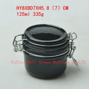 360ml Glass Food Jar Men Glass Jar with Cap pictures & photos