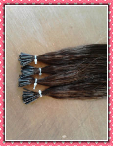Human Hair Pre-Bonded Hair Extension I-Tip Remy Hair pictures & photos