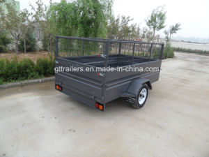 Power Coated Box Trailer with Cage (TR0311) pictures & photos