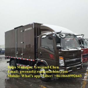 Sinotruk HOWO 6 Wheels 4X2 8 Ton Light Duty Cargo Truck/ Van Truck/ Container Truck/ Light Truck/ Mini Truck, Euro II/ Euro IV, Rhd/LHD