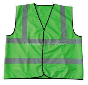 High Visibility Reflective Safety Vest with En471 (DFV1007) pictures & photos