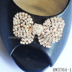Shoe Clip with Rhinestone and Acrylic (HW3764-1)