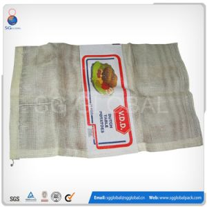 White Poly Mesh Bag for Packing 20kg Onions pictures & photos