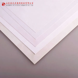PVC (polyvinyl chloride) Rigid White Plastic Sheets /Board pictures & photos