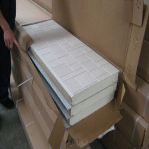 Fire-Retardant PU Foam Sandwich Wall Cladding (60mm/16mm) pictures & photos