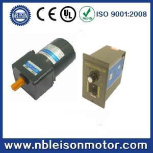 120V 40W Small AC Gear Motors with Speed Controller pictures & photos