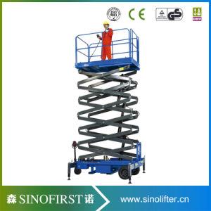 6m-12m Electric Self Propelled Scissor Lift Platform Aerial Lift pictures & photos