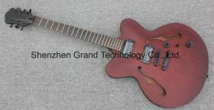 Solid Mahogany Body Es335 Jazz Electric Guitar (TJ-113) pictures & photos