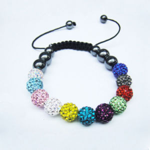 OEM Fashion Colorful Shamballa Bracelet pictures & photos