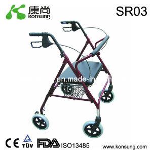 Steel Rollator with Basket (SR03)