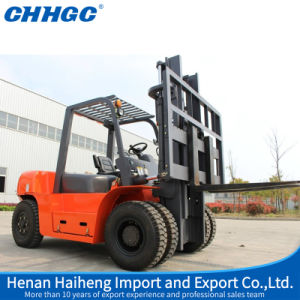 High Performance Famous Brand 7 Ton Hydraulic Diesel Forklift Truck pictures & photos