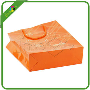 Cmyk Color Printing Mini Gift Bags pictures & photos