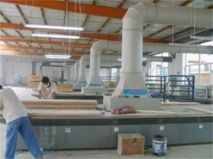 Downdraft Grinding Table Machinery for Wood