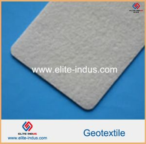 White PP High Strength Needle Punching Geotextile pictures & photos