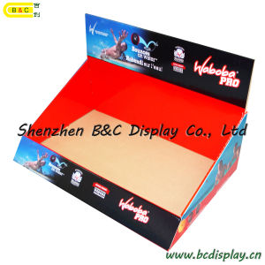 Cardboard Display, Counter Display, SGS Approved Floor Display Stand, Pop Display, Corrugated Display, Paper Display, Retail PDQ Display (B&C-D045) pictures & photos