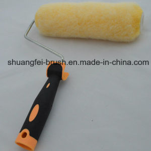 """9"""" *4 Wire Yellow Polyester Paint Roller with Soft Roller Handle pictures & photos"""