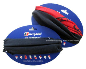 Factory OEM Produce Custom Logo Printed Polar Fleece Multifunctional Seamless Neck Warmer pictures & photos