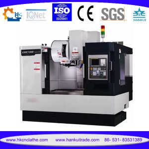 Cutomized CNC Vertical Machining Center with Live Tool Vmc1050L pictures & photos