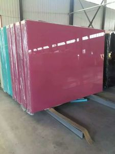 6mm Pink Color Tinted Float Glass pictures & photos