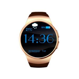 Kw18 Heart Rate Smart Watch Support Meory Card Bluetooth Fitness Tracker IPS for Ios Android pictures & photos