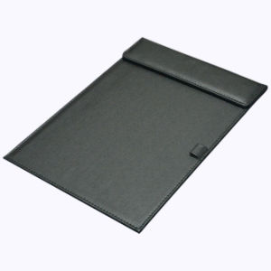 A4 Leather Desk Writing Pad / Signature Pad pictures & photos
