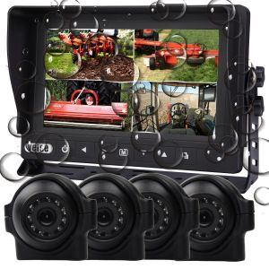 Waterproof Quad Monitor Camera Systems pictures & photos