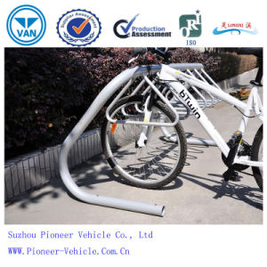 Outdoor Floor Steel Bike Rack Bicycle Parking Stand pictures & photos