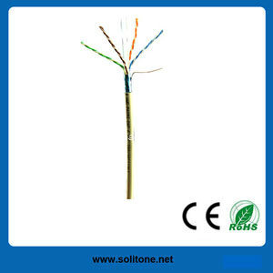 High Quality FTP CAT6 LAN Cable with 24AWG pictures & photos