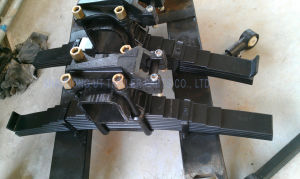 BPW Type Mechanical Suspension Four Axle Overlung / Underslung with Leaf Spring pictures & photos