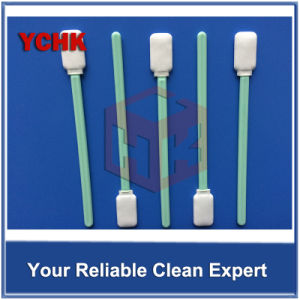Blue Handle Fast Delivery Nonwoven Polyester Swab Cleaner pictures & photos