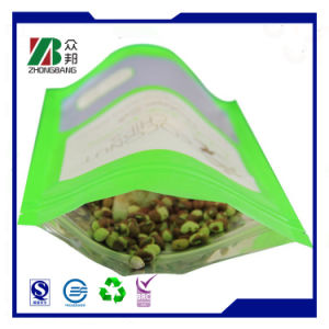 Plastic Food Packaging Bag with Window Heat Sealed pictures & photos