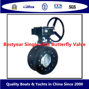 Bestyear Single Axis Butterfly Valve pictures & photos