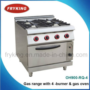 4-Burner Gas Range with Gas Oven for Kitchen pictures & photos