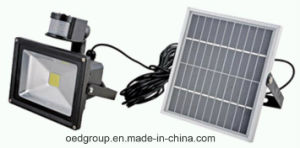 30W Infrared Body Sensing LED Flood Light with Solar Power pictures & photos