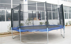 High Quality 14 FT Trampoline with Enclosure and Net pictures & photos