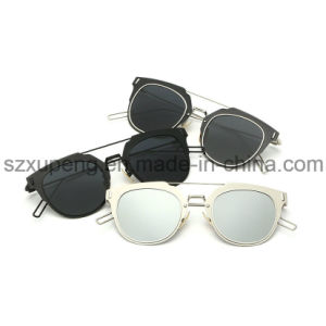 Fashionable Europe Market Polarized Light Metal Sunglasses