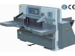 920mm Heavy Duty Program-Control Hydraulic Paper Cutting Machine (WD-QZYK920D) pictures & photos