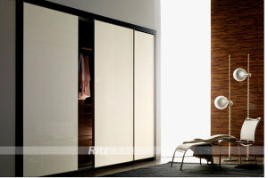 Ritz New Design Bedroom Furniture Sliding Door Wardrobe Closet pictures & photos