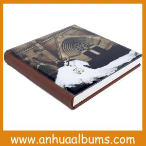 Glass Cover Flush Mount Album for Photographers