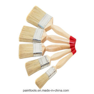 Natural Bristle Paint Brush with Tapered Filament B009 pictures & photos
